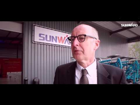 Sunward Europe Heavy Industry N.V opening ceremony