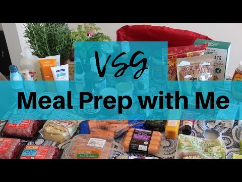 150-lb-weight-loss-●-meal-prep-●-vsg-●-batch-cooking-for-the-week