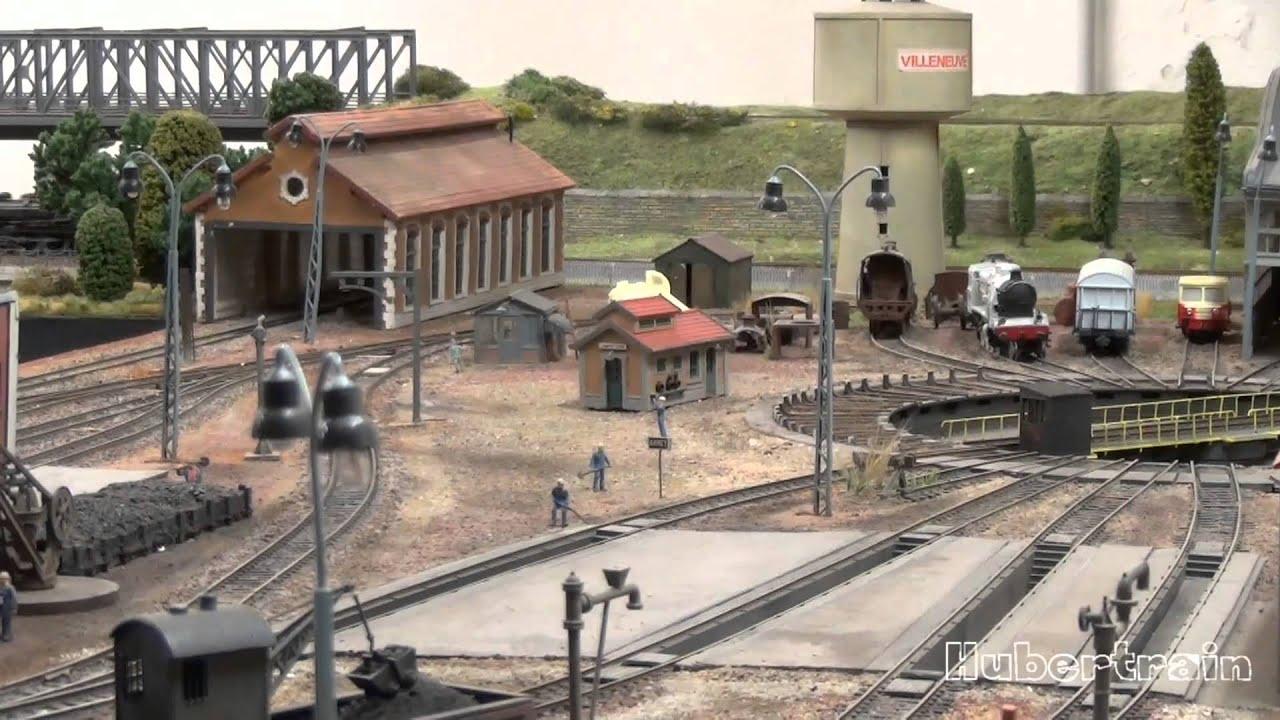 Trains miniatures : MARCIGNY le réseau de RAIL 91 - HD