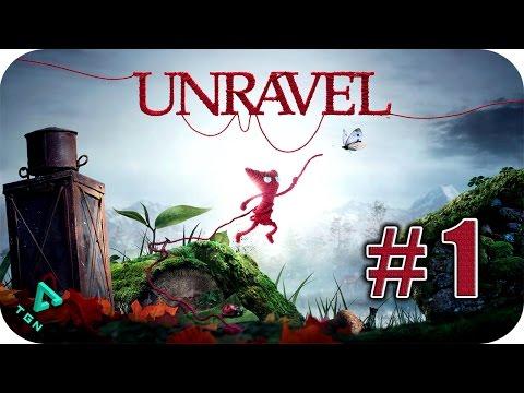 Unravel - Gameplay Español - Capitulo 1 - Cardos y Malas Hierbas