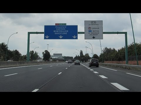 France: A61 & A62 through Toulouse
