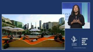 Can Cities Be Designed for Health and Prosperity – Plenary Session – CGI 2016 Annual Meeting