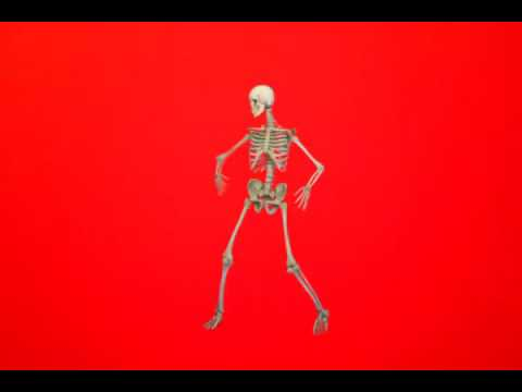 Танцующий скелет!