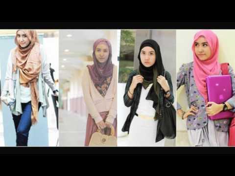 Fashion hijabers tomboy gaya remaja masa kini