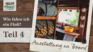 Floßfahren auf der Havel / Teil 4 - Ausstattung