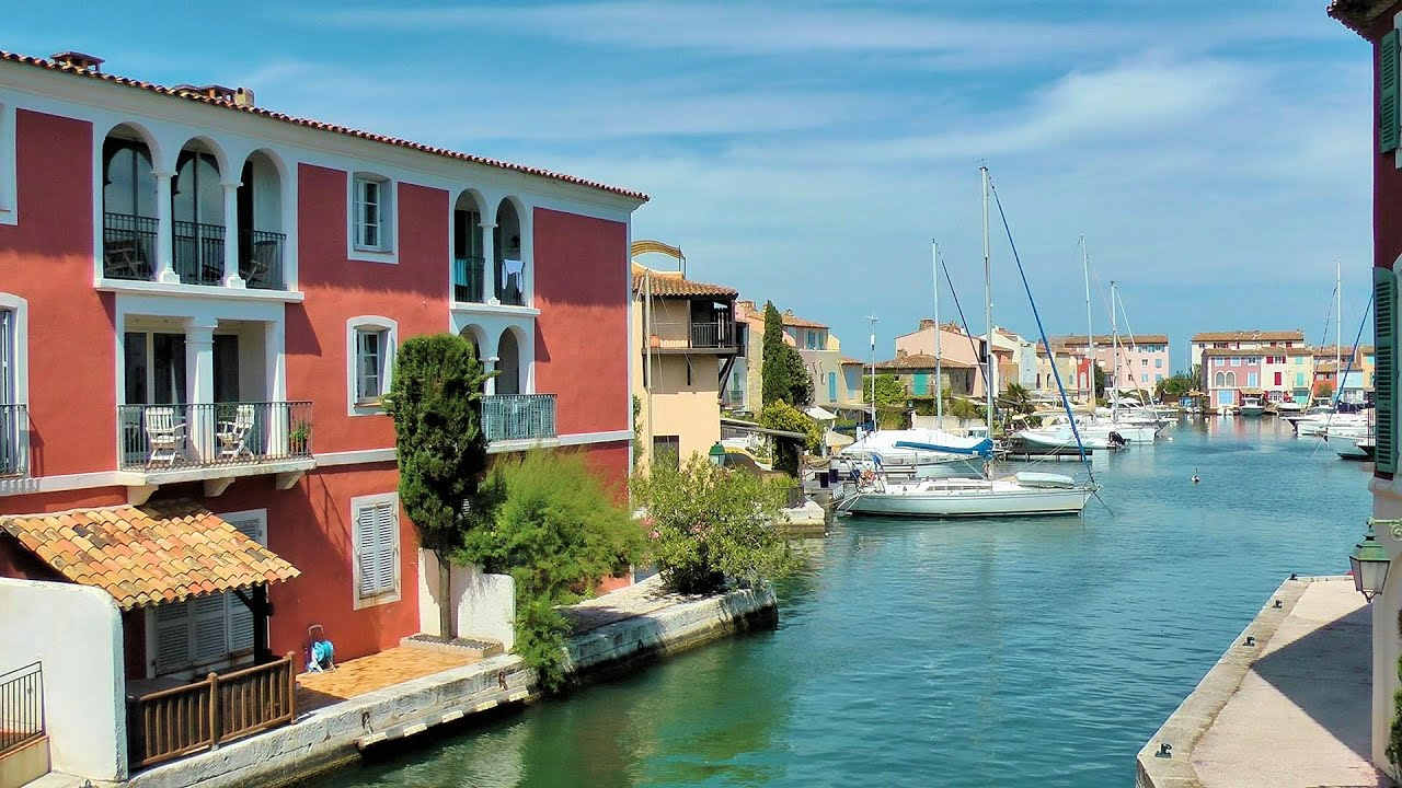 Port Grimaud French Venice French Riviera France HD - Port grimaud location