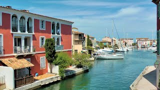Port Grimaud (French Venice), French Riviera, France [HD] (videoturysta)