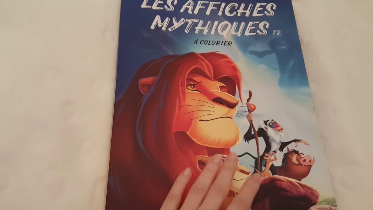 Disney: Les affiches mythiques à colorier Tome 23