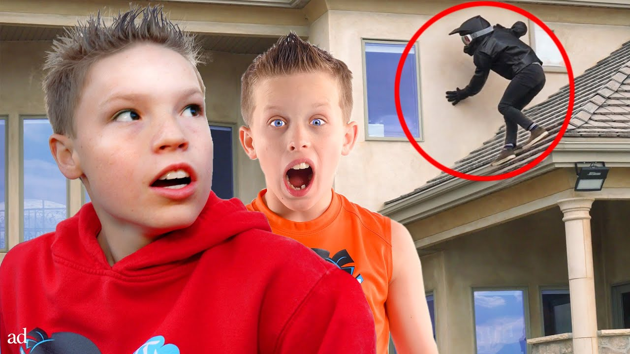 Download An Intruder Broke into our House!