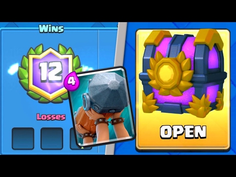 12 Win Battering Ram Challenge Deck and Chest!