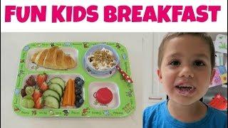 Kids Continental Breakfast | Fun Breakfast