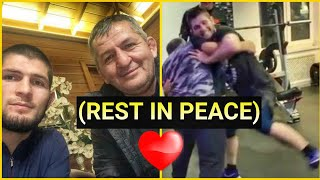 KHABIB NURMAGOMEDOV'S BEAUTIFUL MOMENTS WITH HIS FATHER