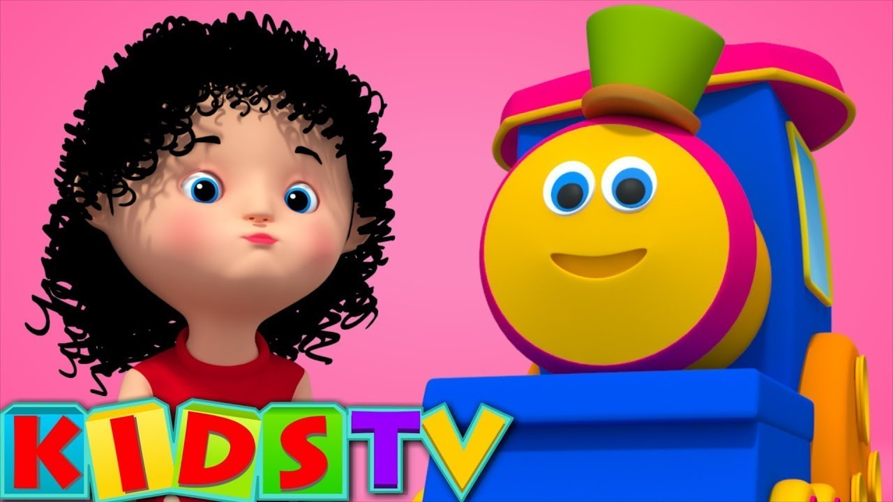 Bob The Train Chubby Cheeks Nursery Rhymes And Kids Video With Bob Kids TV Bob Cartoons