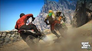 Why Did Steve Do This? - GTA 5 Stunt Race
