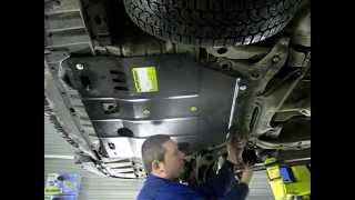 Установка защиты мотодор на автомобиль Mitsubishi  Lanсer