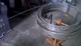 BTI AUTOMATIC WIRE STRAIGHTENING AND CUTTING MACHINE . BTI M-010. Sarbjeet Singh 09814126951