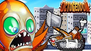 BETTER NOT TO ANGER THE OCTOPUS! Octopus MUTANT Destroys the CITY - Octogeddon