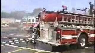 "Maywood,nj Fire Department ""Engine 19"" wetdown pt 1"