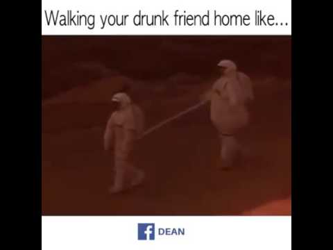 Walking Home With Ur Drunk Friend Be Like Youtube