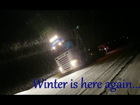 Winter Trucking. Northern Scandinavia. Oct -Nov 2019