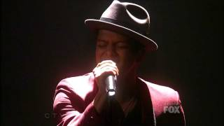 The X Factor 2011 USA - Top 10 Result Show - Bruno Mars