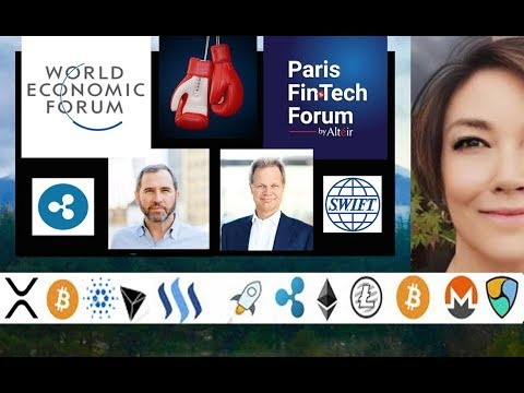 Ripple Brad Garlinghouse & SWIFT Gottfried Leibbrandt, Tokyo Blockchain, The XRP Community Site