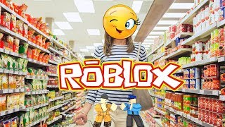 🔴ROBLOX ESCAPING THE SUPERMARKET WITH MY WOMAN AND SUBSCRIBERS..