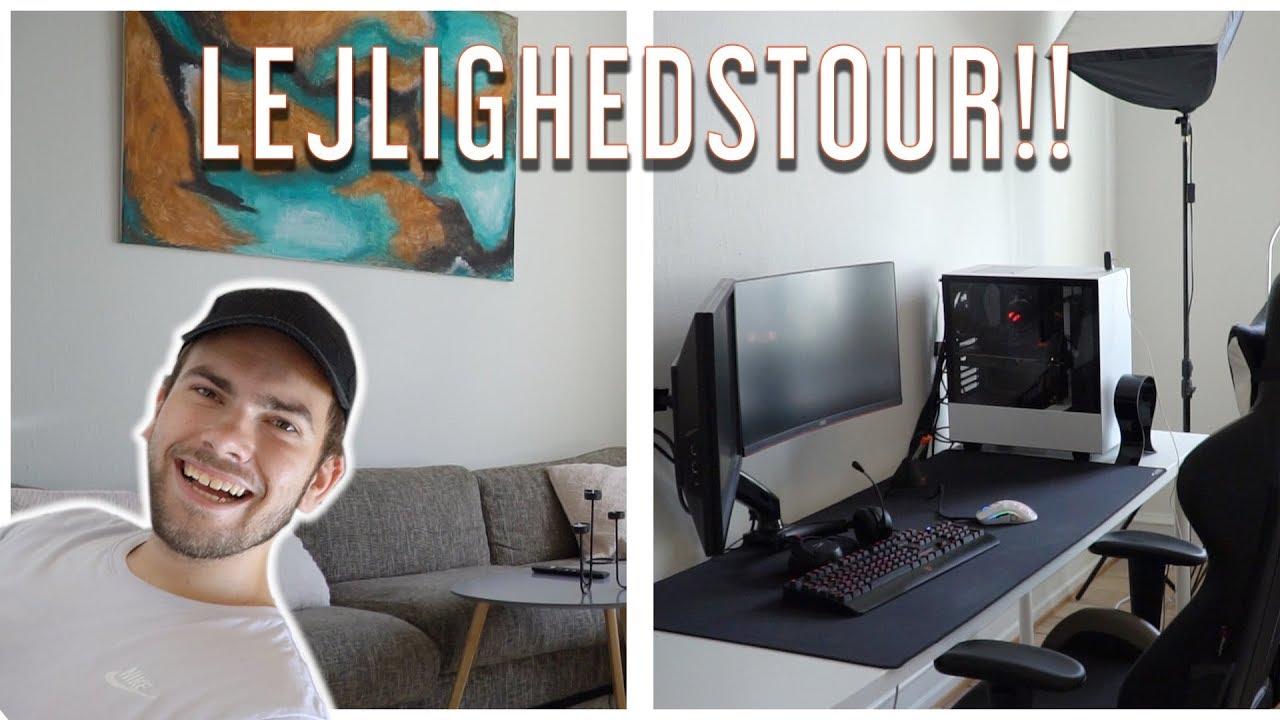 LEJLIGHEDS TOUR (Se min nye lejlighed)