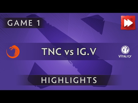TNC Pro Team vs iG.Vitality [Game 1] SL i-League StarSeries S3 - Dota Highlights