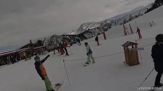 France 3 valleys Courchevel Signal blue 2020 01 21
