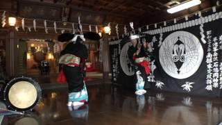 石鳩岡神楽桜山神社奉納「鳥舞」 thumbnail