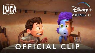 Sea Monsters Clip | Disney and Pixar's Luca | Disney+