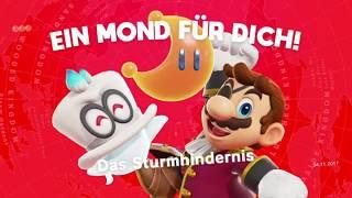 Super Mario Odyssey ~ Polarland ~ Mond Nr 3 + 9 ~ Das Sturmhindernis + Über einem stürmischen Bogen