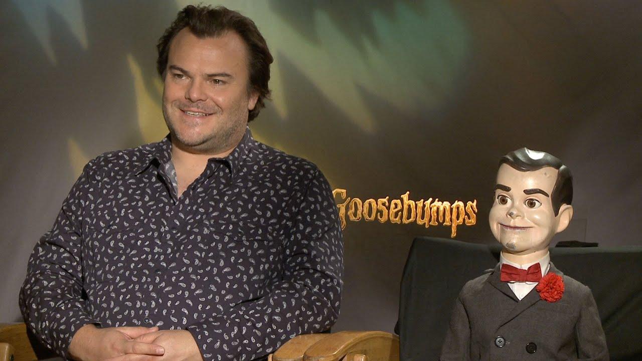 Download 'Goosebumps': Jack Black & Slappy on Making a Scary Film for a New Generation