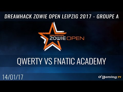 qwerty vs Fnatic Academy - DreamHack Zowie Open Leipzig 2017 - Groupe A Losers match - CS:GO