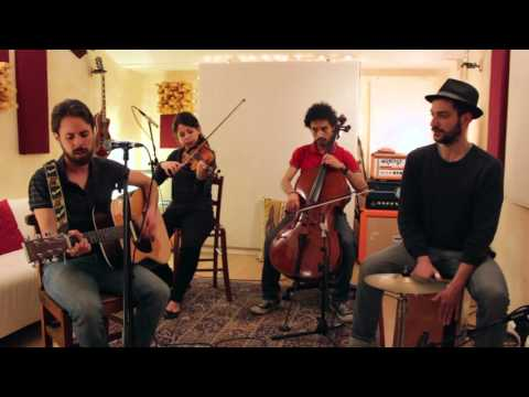 Jack Savoretti-Written in Scars (acoustic cover live in studio with strings) By L.A. Woods