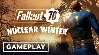 A Win in Fallout 76's Battle Royale: Nuclear Winter - E3 2019