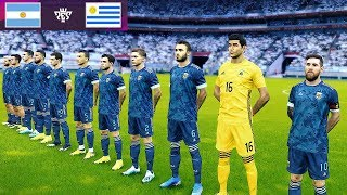 Argentina vs Uruguay - Friendly 18 Nov 2019 Gameplay