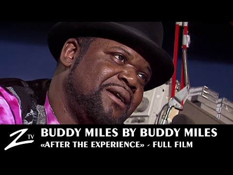 "Buddy Miles by Buddy Miles ""After the Experience"" - FULL FILM"