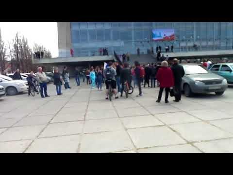 """5 мая 2018. """"Он нам не царь"""" в Тольятти. Более 50 человек задержаны"""