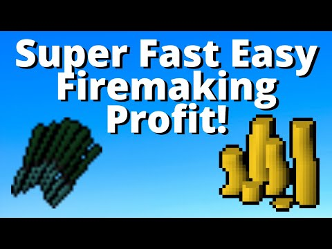 3.25m - 9m+ Low Level Money Making Guide 2020! Runescape 3 Firemaking