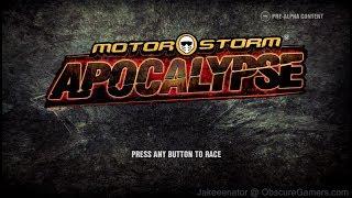 Motorstorm Apocalypse E3 Demo