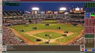 Strat-o-matic Baseball PC Game 2007 Red Sox vs Texas Rangers