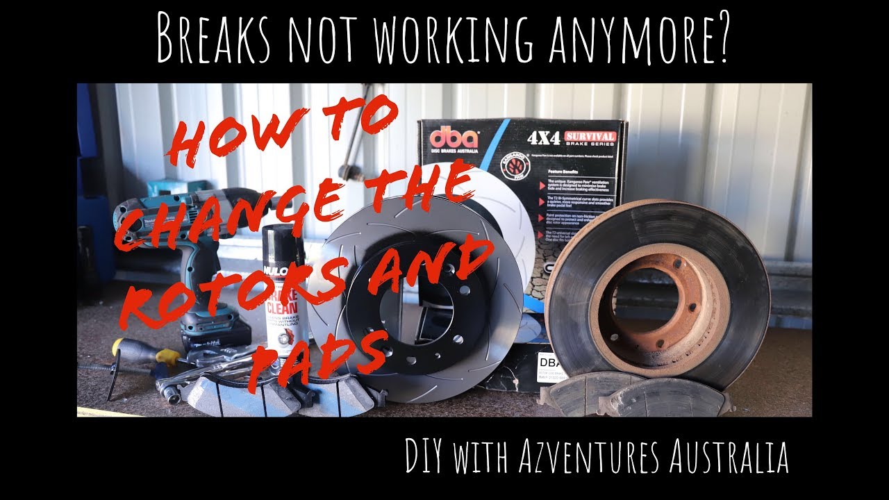 how to break in new rotors and pads