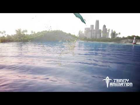Submarine Cable Lay Animation - Trinity Animation