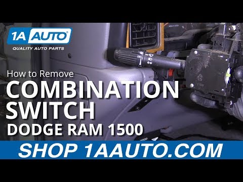 How to Replace Combination Switch 94-02 Dodge Ram 1500