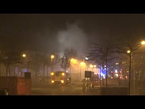 BAMBERG: Randale und Feuer in Ankerzentrum