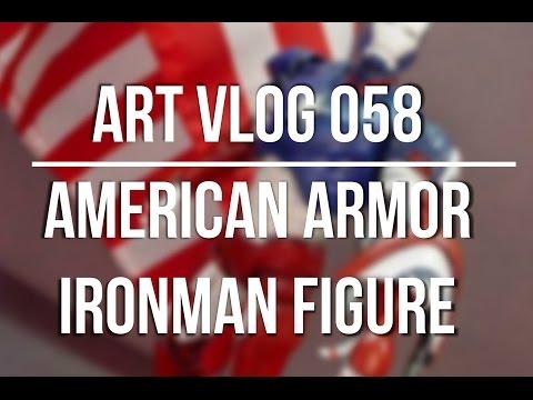 Art Vlog 058 American Ironman