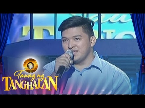 Tawag ng Tanghalan: Eric Celino | The Way You Look At Me