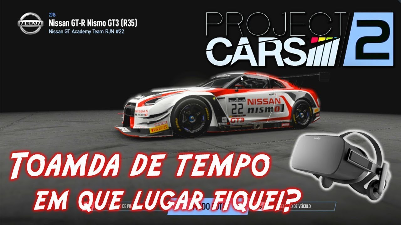 Project Cars 2   Nissan GT R Tomada De Tempo   Top 10 Mundial?